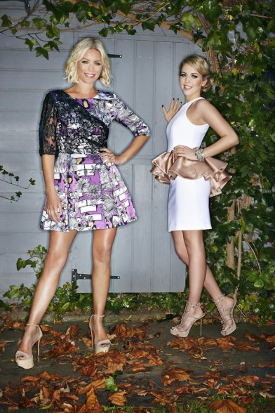 Denise Van Outen and Lydia Bright