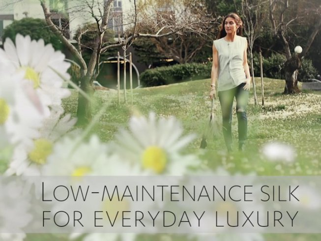 Low-maintenance silk for everyday luxury